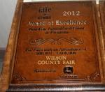 IAFE Award for the 2012 Spring Festival & Garden Tour