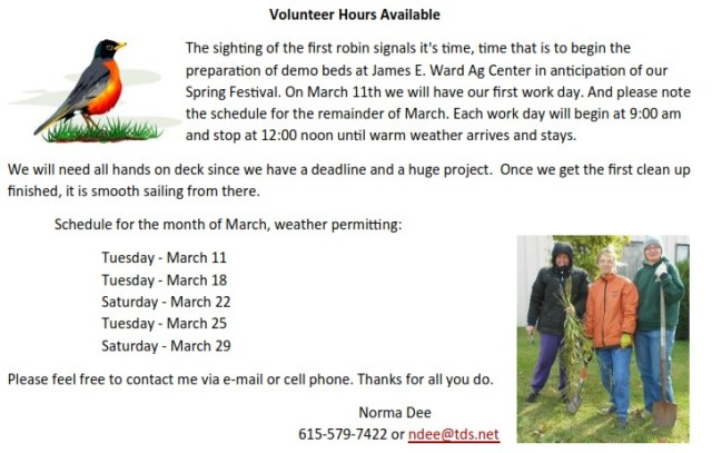 !march_volunteer_days