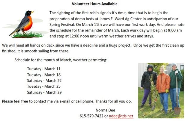 !march_volunteer_days