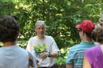 You would be hard pressed to find a more enthusiastic tree tour guide than Dr. Steven Baskauf.