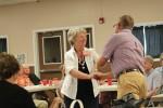 Edwina Reeder gets her badge